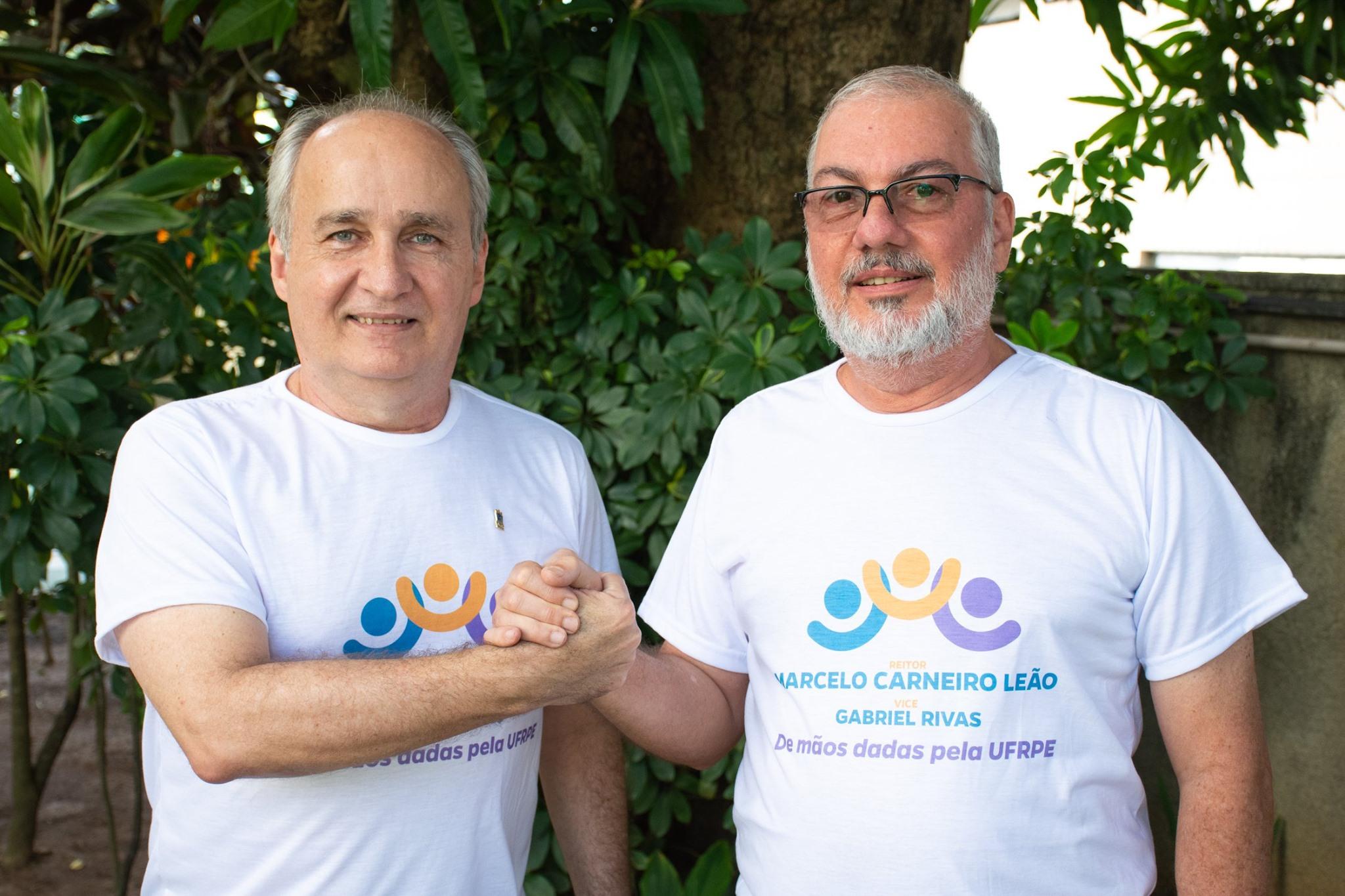Marcelo Carneiro Leão e Gabriel Rivas