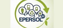 Cartaz do Epersol com a marca do evento