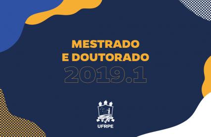 UFRPE divulga edital de mestrado e doutorado 2019.1