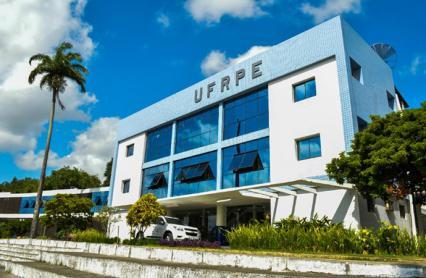 Imagem fachada da UFRPE