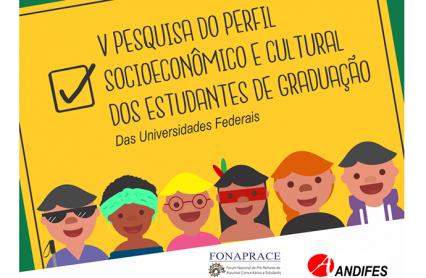 Imagem logo da pesquisa do perfil dos estudantes das IFES