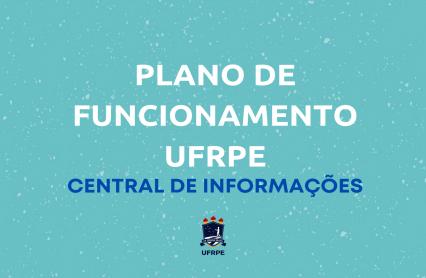 texto plano de funcionamento ufrpe central de informações